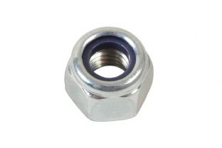 Connect 36936 Nyloc Nuts Metric 6mm Pk 5